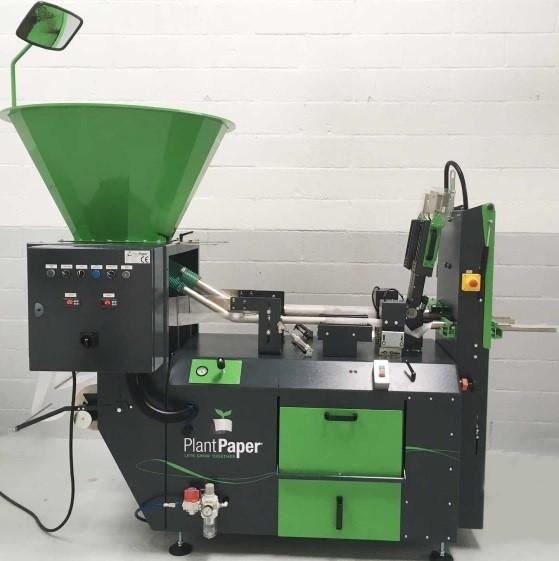 semi automatische plantpapiermachine