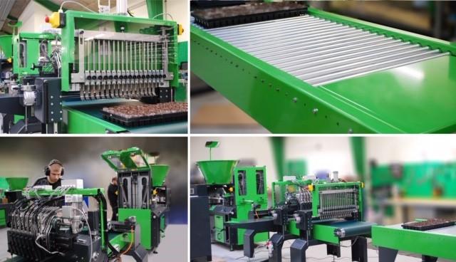 vol automatische plantpapiermachine